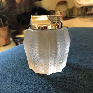 Vintage Lalique Ink Well